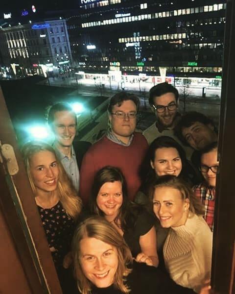 Humanisticumin hallitus vuodelle 2017 jrjestytyi ja kvi testaamassa Stadin parhaanhellip