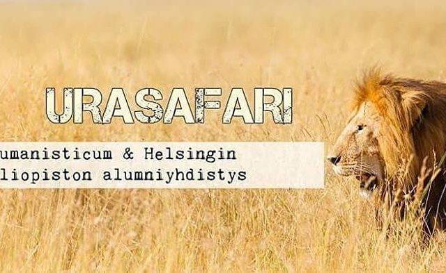 Hae mukaan Urasafarille ja viet typiv alumnin kanssa! Ky kurkkaamassahellip