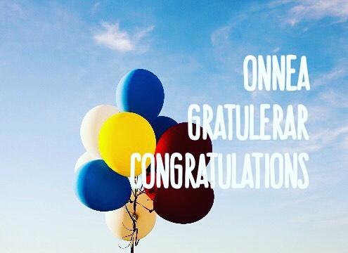 Monelle on kajahtanut iloisia uutisia Opintopolusta onnittelut opiskelupaikasta ! Humanistifuksithellip
